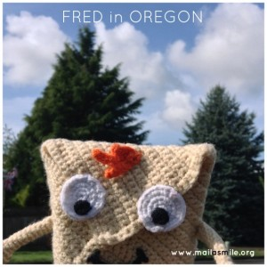 FRED in OREGON MAIL A SMILE-Title